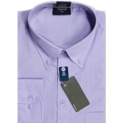 ESPIONAGE Cotton rich Long Sleeve shirt LILAC