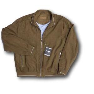 SAXON Sueded Casual Blouson BROWN