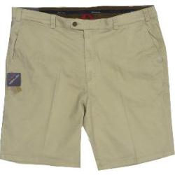 OAKMAN Comfort Stretch Sulpher Washed Cotton Shorts CEMENT 62