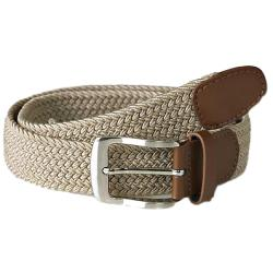 D555 Stretch Braided Belt STONE FRANK 2 - 6XL