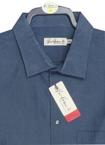 BAR HARBOUR  Woven Polymodal Shirt SLATE 4xl