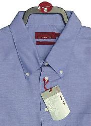 SALE - BAR HARBOUR Oxford Woven Shirts LONG SLEEVE Royal 2 - 4XL