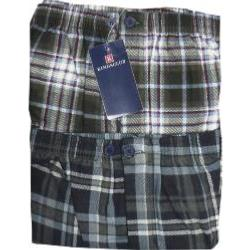 Kings Club Twin Pack Brushed Cotton Pyjama Trousers