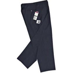 Skopes Wool Stretch Suit NAVY PINSTRIPE TROUSERS