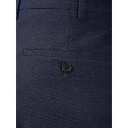 "SKOPES HARCOURT TEXTURED TWEED EFFECT  TROUSERS  BLUE  44 - 72"" WAIST S/R"