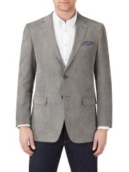 "SALE - SKOPES Soft Touch Fashion Sports Jacket PEBBLE GREY  - 54 - 62"" Short and Regular"