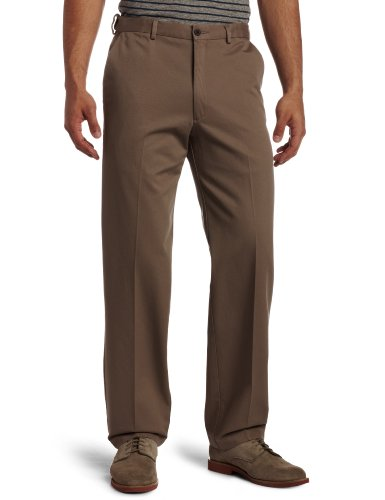 Big Mens Smart Formal Trousers - BROWN