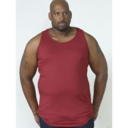D555 BIG MENS MUSCLE VEST FABIO RED 3 - 8XL
