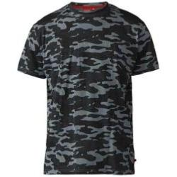 D555 Camouflage Print Tee Shirt STORM