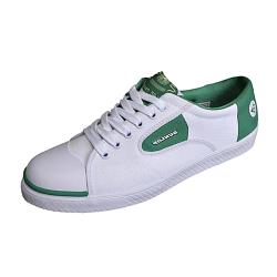 SALE - DUNLOP GREEN FLASH LACE UP SPORTS TRAINER 12 - 15 UK