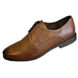 POD  Leather Brogue Lace up BRISTOL TAN