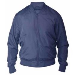 D555 Lightweight Bomber Style Jacket JAMES NAVY 3 - 4XL