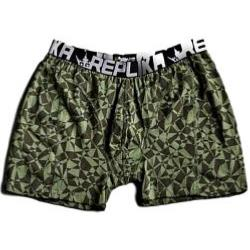 SALE - REPLIKA JEANS Fashion Trunks GREEN 5 - 8XL