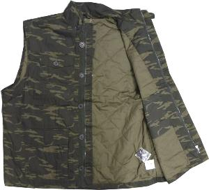 ESPIONAGE  Camouflage Military Style Lightly Padded Body Warmer 3XL