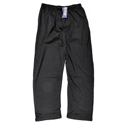ESPIONAGE  Jersey Lounge Trousers BLACK 2 - 8XL