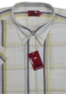 DUKE Woven Check shirt RAIDON