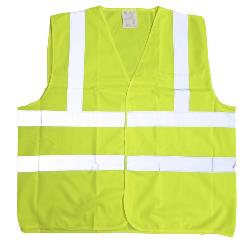 HI VIS VEST YELLOW 3 - 6XL