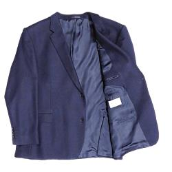 HUGO JAMES Wool Blazer NAVY
