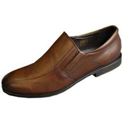 POD  Leather Formal Slip on BENZ TAN