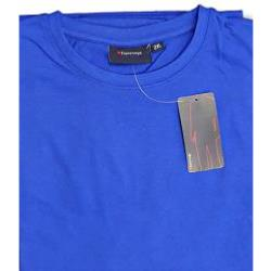 ESPIONAGE PURE COTTON CREW NECK TEE SHIRT ROYAL BLUE 2 - 8XL