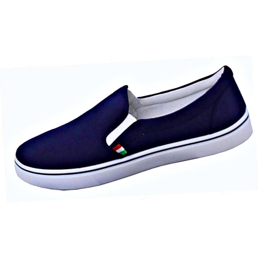 83cc5c57d30 D555 BIG MENS SLIP ON PUMPS - bigmenonline - large mens clothing
