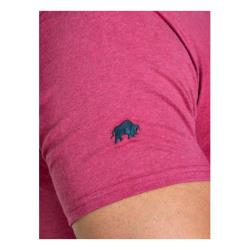 RAGING BULL TEE - Chambrey Cotton Tee with Applique detail LEAGUE OF CHAMPIONS STRAWBERRY 3 - 6XL