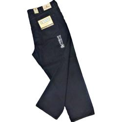 KAM Quality Denim  King Size Jeans  BLACK