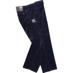 OAKMAN Quality Stretch Cordurouy Trousers NAVY 44""