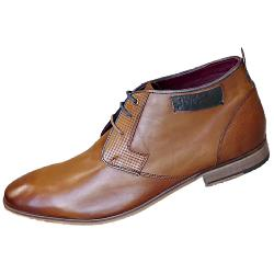 POD - PAUL O'DONNELL Fashionable Dress Boot COGNAC