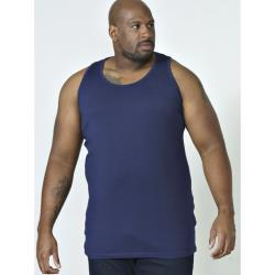 D555 BIG MENS MUSCLE VEST FABIO NAVY