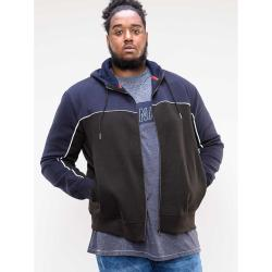 D555 FULL ZIP HOODY  VINCENT NAVY  3 - 6XL