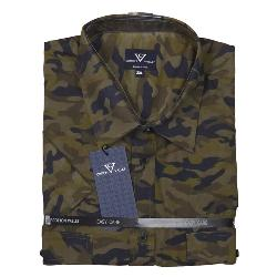 COTTON VALLEY  CAMOUFLAGE  SHORT SLEEVE SHIRT  WITH TWIN CHEST POCKETS 2 - 8XL