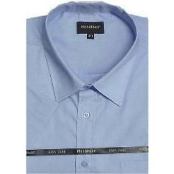 Metaphor Plain Shirt - Short Sleeve  BLUE