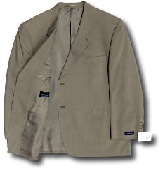 FABRIZIO Lightweight  Window pane check Jacket BEIGE