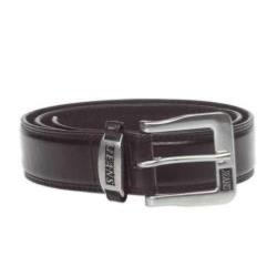 "Duke Chunky Jeans Style Belt KENNY BLACK - 44 - 64"" WAIST"