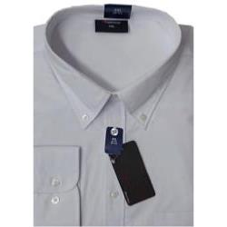 "ESPIONAGE Cotton rich Long Sleeve shirt WHITE 2 - 8XL (18 - 24"" Collar)"