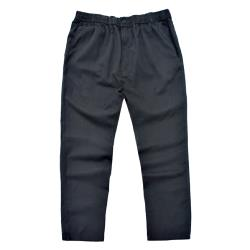 ESPIONAGE COTTON RUGBY TROUSERS BLACK 2 - 8XL SHORT AND REGULAR