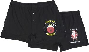 ESPIONAGE Cotton Boxers CHRISTMAS