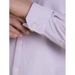RAGING BULL SIGNATURE COTTON OXFORD LONG SLEEVE SHIRT LAVENDER 3 - 6XL