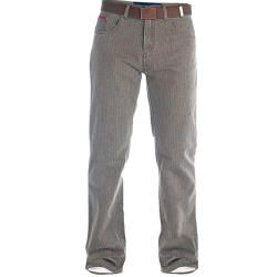 DUKE Casual Bedford Cord  Jeans BROWN