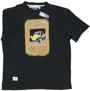 ED Baxter Natural Cotton Tee DUNE BUGGY BLACK 3XL