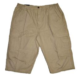 METAPHOR LIGHTWEIGHT COTTON 3/4 SHORTS WITH CARGO POCKET FAWN 2XL - 8XL