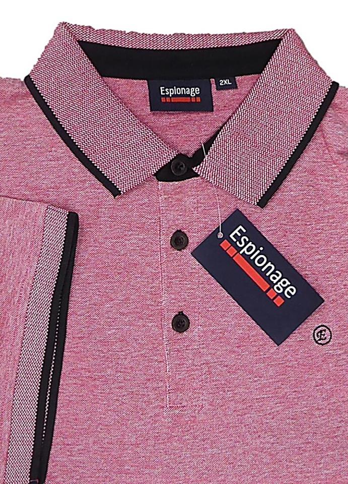 0e356ddb9 ESPIONAGE Big Mens polo shirts - bigmenonline - large mens clothing
