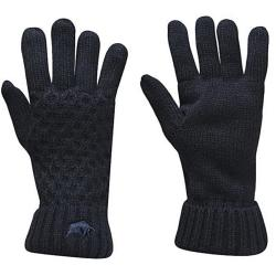 RAGING BULL CABLE KNIT GLOVES - NAVY