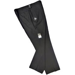 SKOPES Black Plain front Trouser CYPRUS