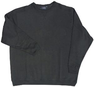 ESPIONAGE Big Size Crew neck Sweatshirt BLACK 3 - 8XL