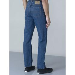 "SALE - ROCKFORD JEANSWEAR COMFORT FIT HARD WEARING WORKER JEANS STONEWASH BLUE 42 -56"" WAIST S/R"