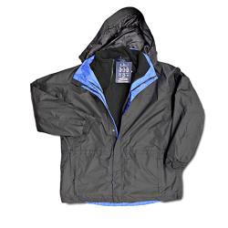 SALE - ESPIONAGE 3-in-1 Waterproof Coat BLACK/ROYAL 3XL