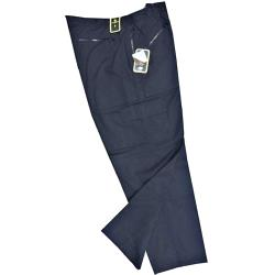"Active Wear Multi Pocket Outdoor / Work  trouser NAVY 42 -60"" S/R"