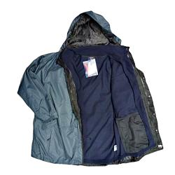 ESPIONAGE 3-in-1 Waterproof Coat (INDIGO/ SLATE) 8xl